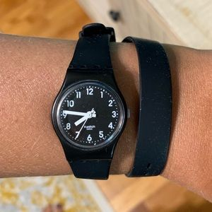 Swatch Double Band Watch